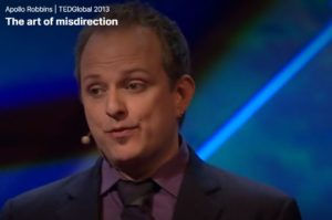 The Art of MisDirection with Apollo Robbins