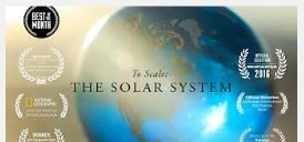 To Scale: a Model of the Solar System