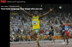 Your Body Language May Shape Who You Are by Amy Cuddy